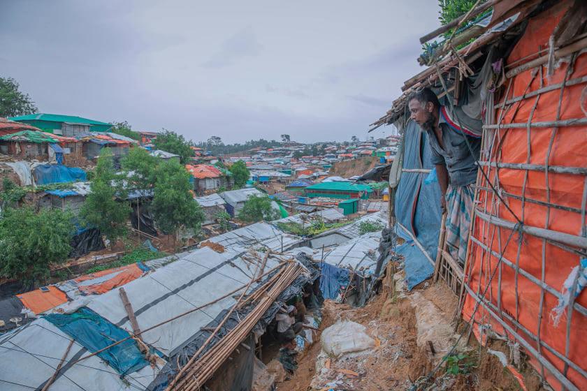 টেকনাফ ক্যাম্পে মারামারিতে রোহিঙ্গা নারী নিহত