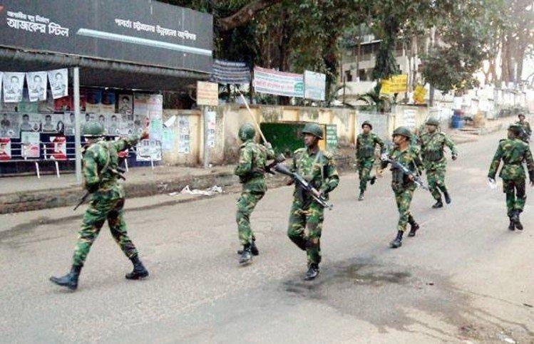রাঙামাটিতে সন্ত্রাসীদের সাথে গোলাগুলি, সেনা সদস্য নিহত