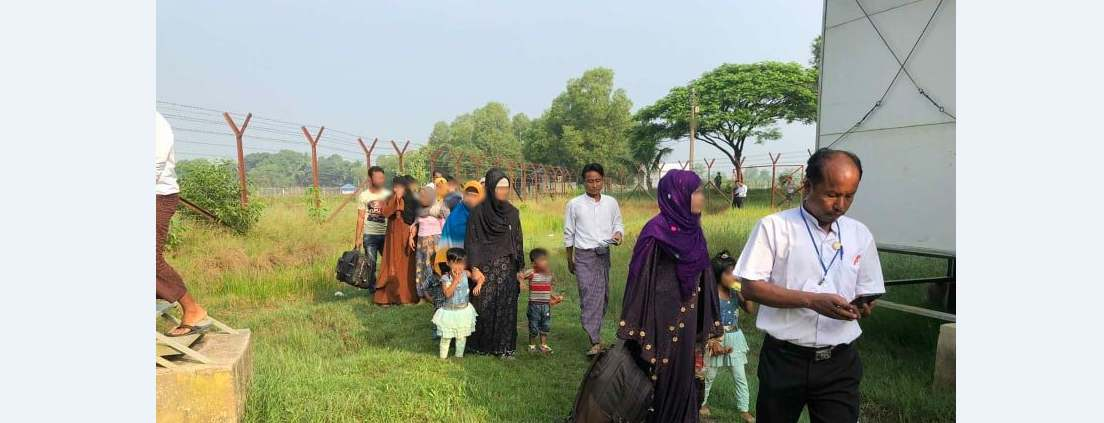 'অজান্তেই' ২৯ রোহিঙ্গা ফেরত গেলেন মিয়ানমারে!
