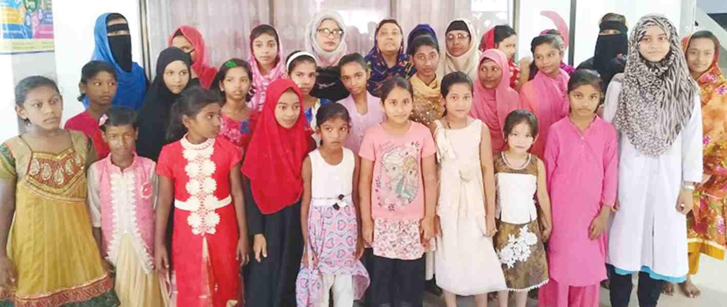 সেবামূলক কর্মসূচি বাাস্তবায়ন করছে জিয়াউল হক ট্রাস্ট