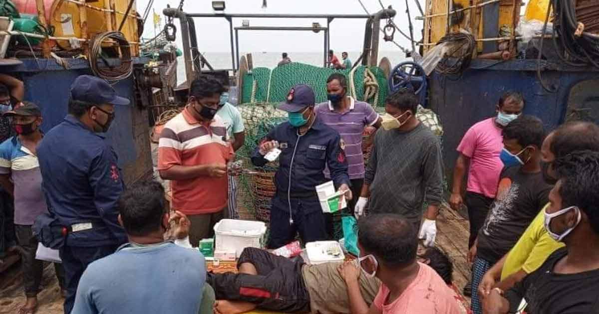 সীমানা অতিক্রম: মিয়ানমার নৌবাহিনীর গুলিতে ৬ বাংলাদেশি জেলে আহত