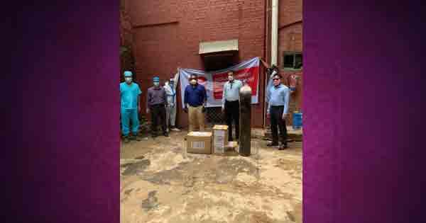 ব্যতিক্রমী উদ্যোগ লাভ ফর চট্টগ্রাম'র মেডিকেল সামগ্রী হস্তান্তর