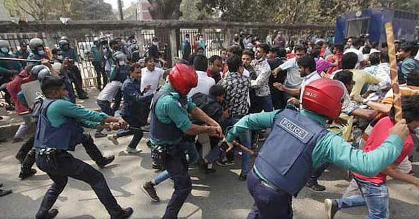 ঢাকায় পুলিশ-ছাত্রদল সংঘর্ষ: বিএনপির ৪৭ নেতাকর্মীর বিরুদ্ধে মামলা