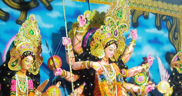 কৈলাসে ফিরলেন দেবী দুর্গা, বিসর্জনে সমাপ্ত শারদীয় দুর্গোৎসব